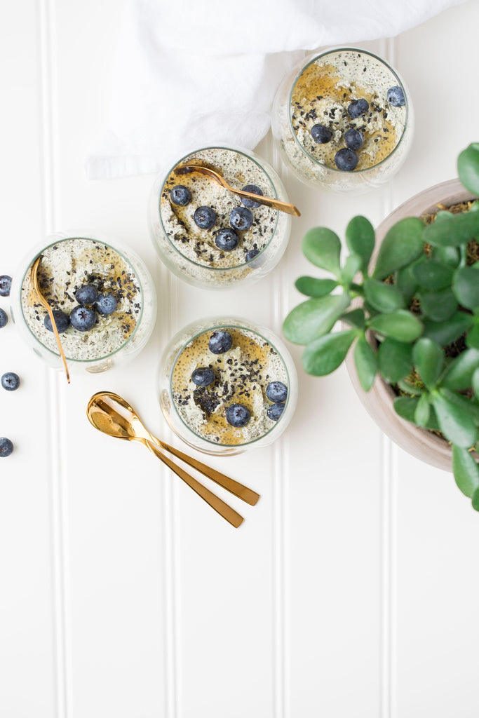 #GFSpringRefresh: Banana Chia Pudding