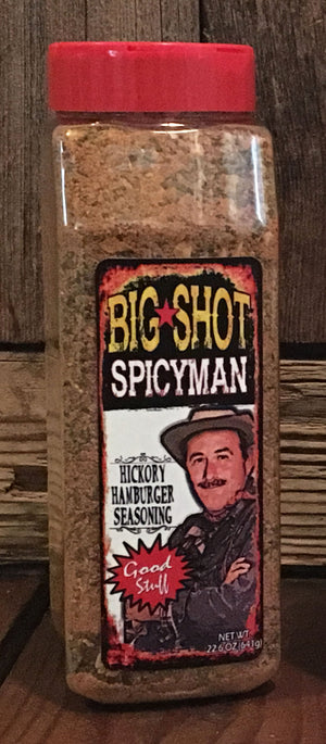 Hickory Hamburger Seasoning