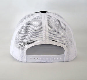 Trucker Hat - Black/White