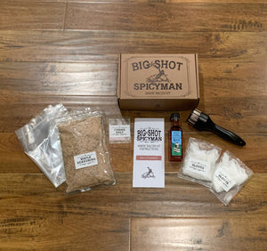 BigShotSpicyman<br>Makin' Bacon Kit - Maple Flavor