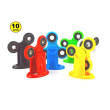 Wholesale Lot 10x Fidget Spinner with Matching Universal Fidget Spinner Stand