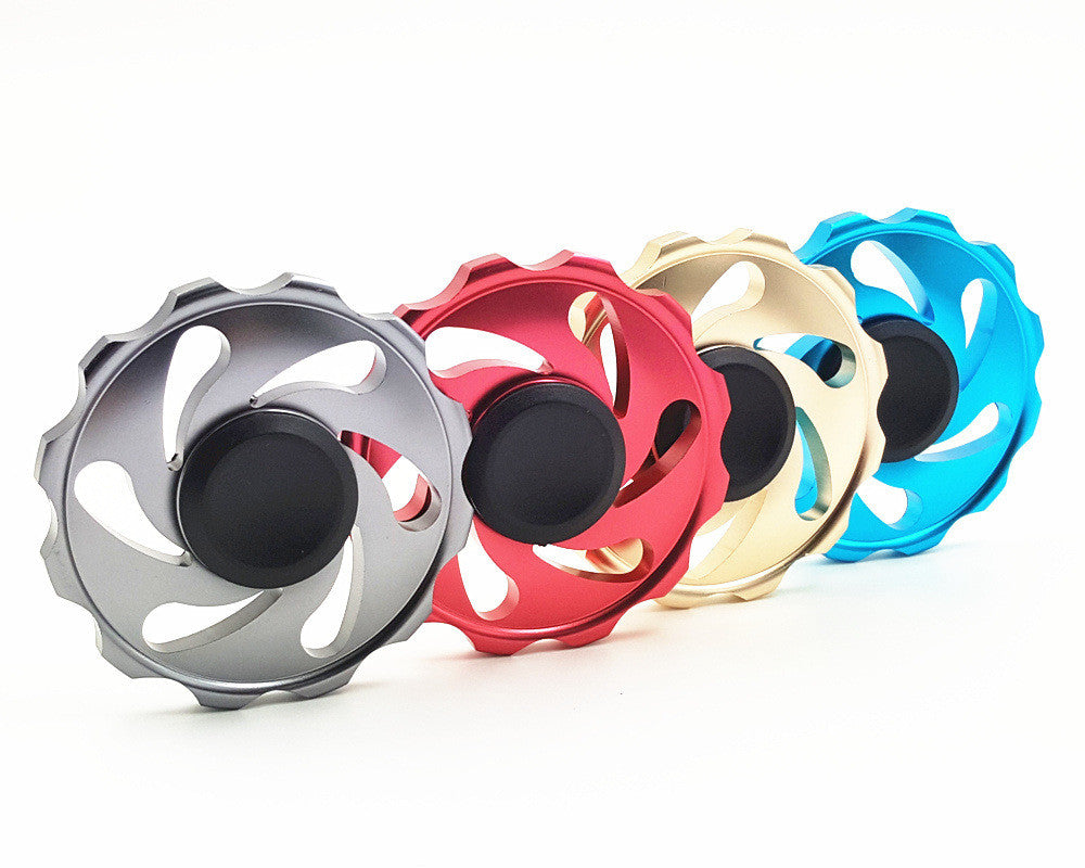 Round Wheel Colored Fidget Spinner (clearance)