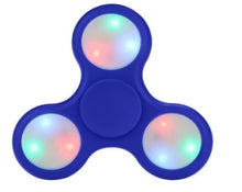 Wholesale Lot 10x LED Light UP Fidget Hand Spinner Finger Game Desk Kids Fun Toy