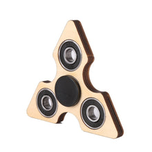 Wood Fidget Spinner Pointy