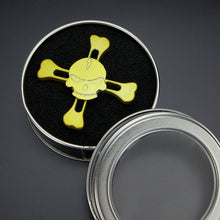 Skull and Crossbones Metal Fidget Spinner