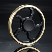 Gold Circular Spiral Hand Spinner (clearance)