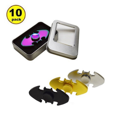 Wholesale Lot 10X Metal Bat Fidget Spinner
