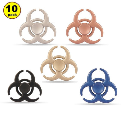 Wholesale Lot 10x Bio-Hazard/Resident Evil Fidget Hand Spinner Finger Game Desk Kids Fun Toy