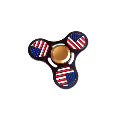 American Flag Tri-Spinner Hand Spinner (clearance)
