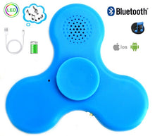 Wireless Bluetooth Music Speakers LED Fidget Hand Spinner Tri Fidget Spinner EDC Focus Finger Toy (clearance)