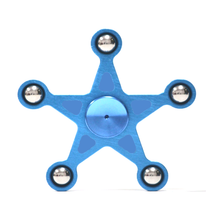 Five Pointed Star Shape 5 balls Aluminium Fidget Spinner