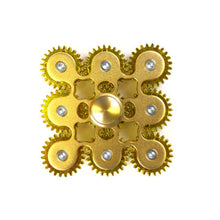 Nine Gear Linkage Fidget Spinner Killing Time Toy for Kids and Adults