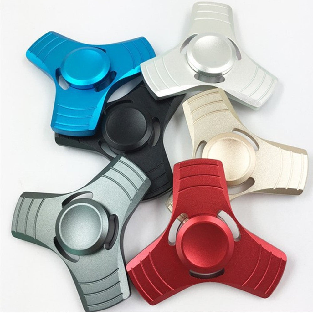 Metal Spinners Best Price Spinner At Spinner4fun Ckf Style Fidget Hand Aluminum Tri Arm
