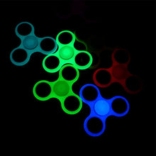Luminous Glow In the Dark Fidget Tri-Spinner (clearance)