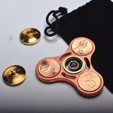 Creative US Dollars Copper Inlaid Hand Spinner (clearance)