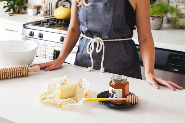Cooking Mom in the Kitchen with Apron