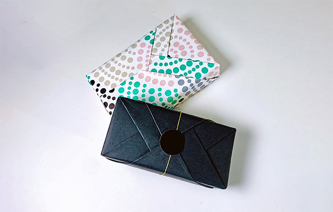 Origami Holiday Paper Gift Wrapping