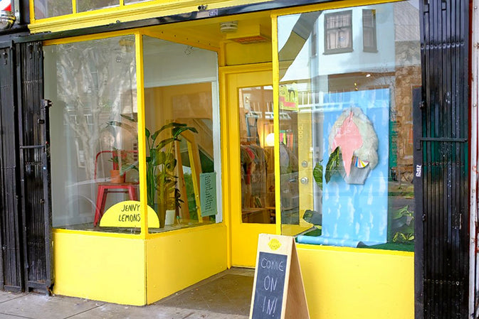 Jenny Lemons Places to shop in San Francisco and the Mission