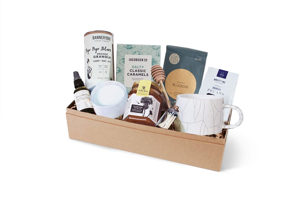 holiday corporate gift ideas local food