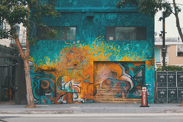 Murals and scavenger hunts from cars