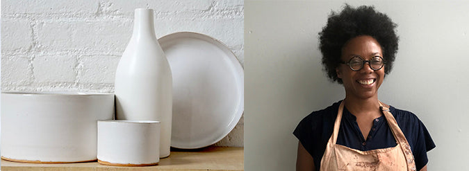 Tracie Hervy Black-Owned business artist ceramicist