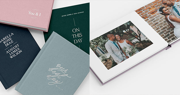 heirloom paper anniversary photo album gifts