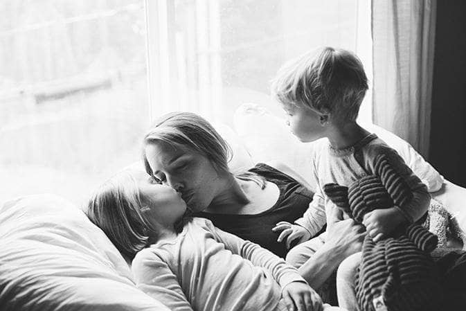 Ashley Gartland and Kids for Mothers Day