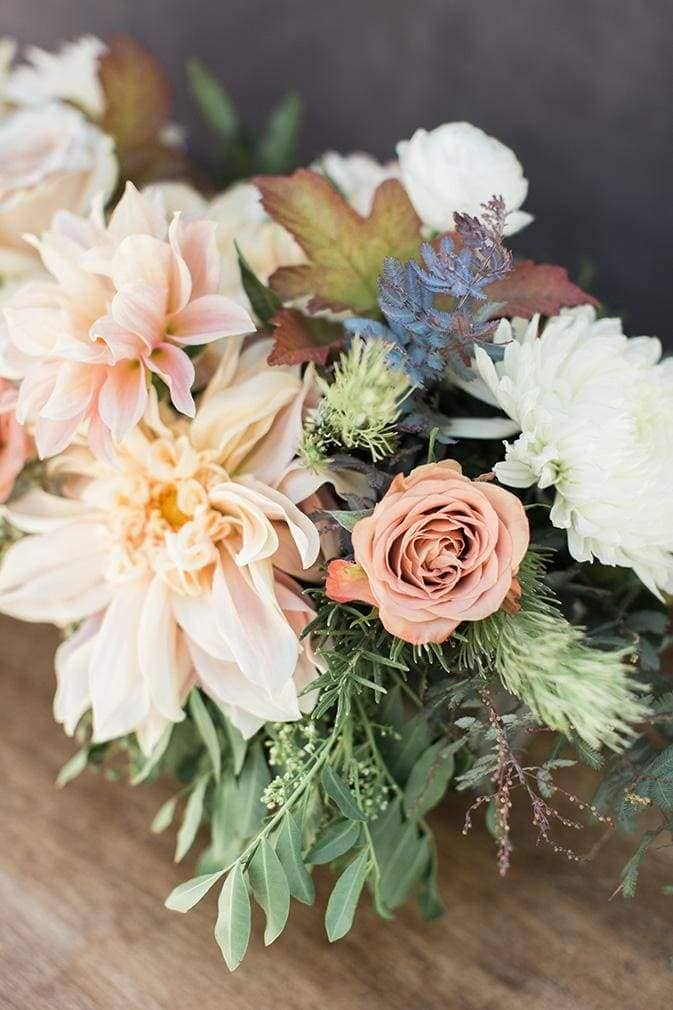 Fall Floral palette wedding florists Santa Cruz