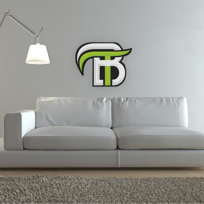 OpTic BigT Wall Decal