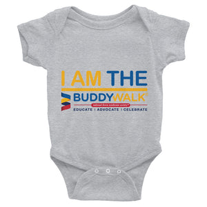 Infant Bodysuit---I Am The Buddy Walk---Click for More Shirt Colors