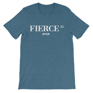 Unisex short sleeve t-shirt---21Fierce---Click for more shirt colors