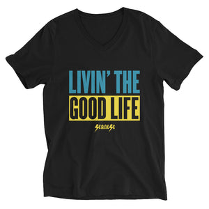 V-Neck T-Shirt--Livin' The Good Life