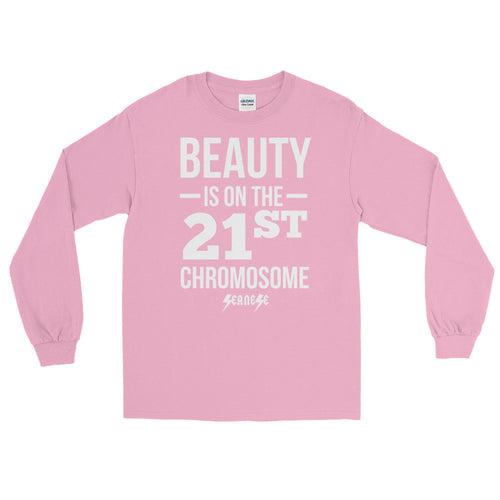 Long Sleeve WARM T-Shirt------Beauty White Design---Click for more shirt colors