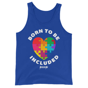 Unisex  Tank Top---Born To Be Included--Click for more shirt colors