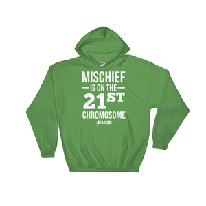 Hooded Sweatshirt---Mischief---Click for more shirt colors