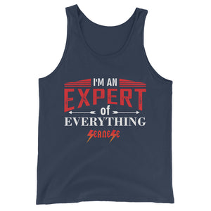 Unisex  Tank Top---Expert of Everything---Click for more shirt colors