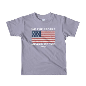Toddler Short sleeve kids t-shirt---We The People---Click for more shirt colors