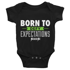 Infant Bodysuit---Born to Defy Expectations
