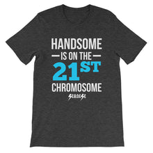 Unisex short sleeve t-shirt---Handsome Blue/White Design---Click for more shirt colors