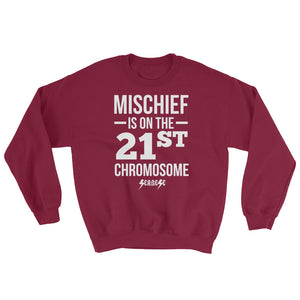 Sweatshirt------Mischief---Click for more shirt colors