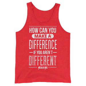 Unisex  Tank Top---How Can You Make a Difference