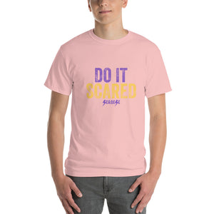 Short Sleeve T-Shirt Thick Cotton to Make Dad Happy---Do it Scared---Click for more shirt colors