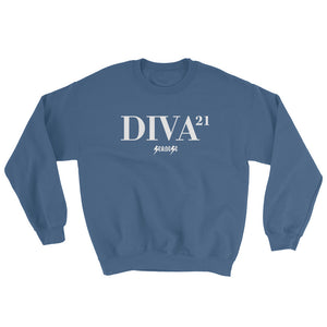 Sweatshirt---21 Diva---Click for more shirt colors