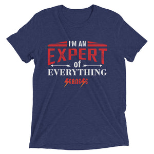 Upgraded Soft Short sleeve t-shirt---Expert of Everything---Click for more shirt colors