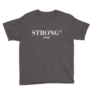 Youth Short Sleeve T-Shirt---21Strong---Click for more shirt colors