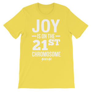 Unisex short sleeve t-shirt---Joy---Click for more shirt colors