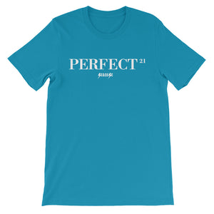 Unisex short sleeve t-shirt---21Perfect---Click for more shirt colors
