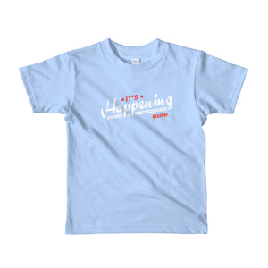 Toddler Short sleeve kids t-shirt---It's Happening---Click for more shirt colors