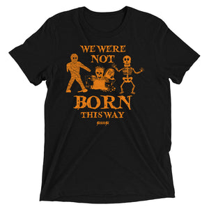 Upgraded Soft Short sleeve t-shirt---Halloween---Black Shirt
