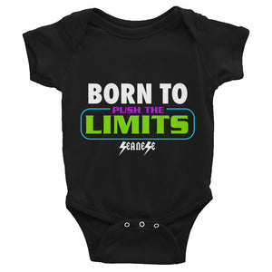 Infant Bodysuit---Born to Push the Limits---Click for more shirt colors